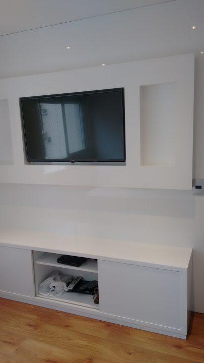 Móvel planejado para tv e equipamentos