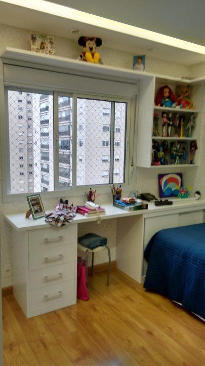 dormitórios completos para casal, solteiro e crianças