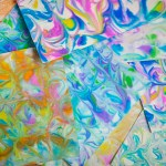 Paper Marbling with Shaving Cream!