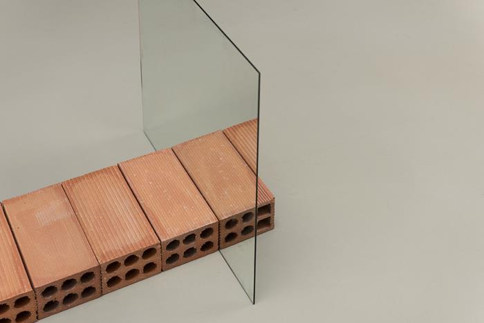 """infinito (after Carl Andre)""""Ding Musa."""