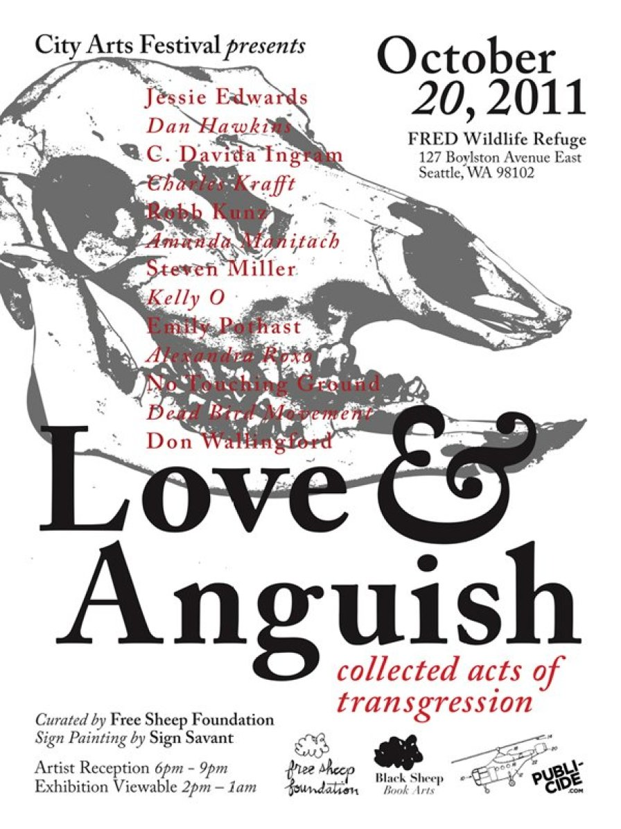 Love & Anguish Flyer