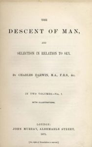 Darwin's second book on evolution, The Descent of Man, was published in 1871.