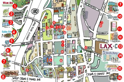 Chinatown Map from Timeout - Style!