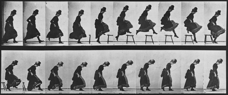 Muybridge Jump and Clothes