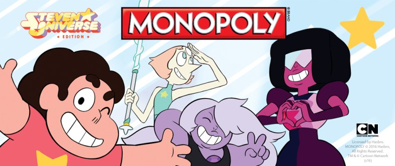 Think of partnering up with another company. In this example the cartoon 'Steven Universe' partnered with Monopoly.