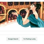 Happy Birthday, Maria Callas! Love, Google