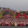 north korean dance video
