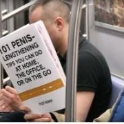 Trolling Subway Riders With Fake Book Covers