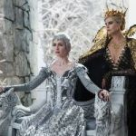 "(L to R) Wicked sisters Freya (EMILY BLUNT) and Queen Ravenna (CHARLIZE THERON) threaten the enchanted land with twice the darkest force it's ever seen in the epic action-adventure ""The Huntsman: Winter's War,"" a breathtaking new tale nested in the legendary saga."