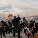 Cliffhanger: Orchestra Performs At Edge Of Yosemite Cliff