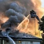 Fire Ravages Stockholm's Royal Institute Of Art