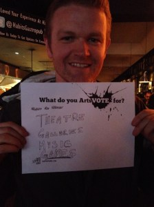 What do you ArtsVote for?