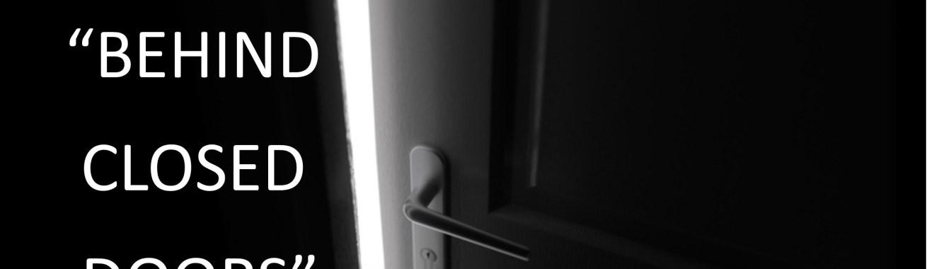 behind closed doors flyer