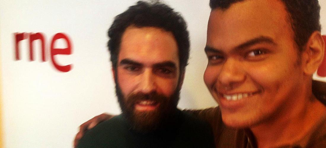 Arturo Paniagua con Jero Romero