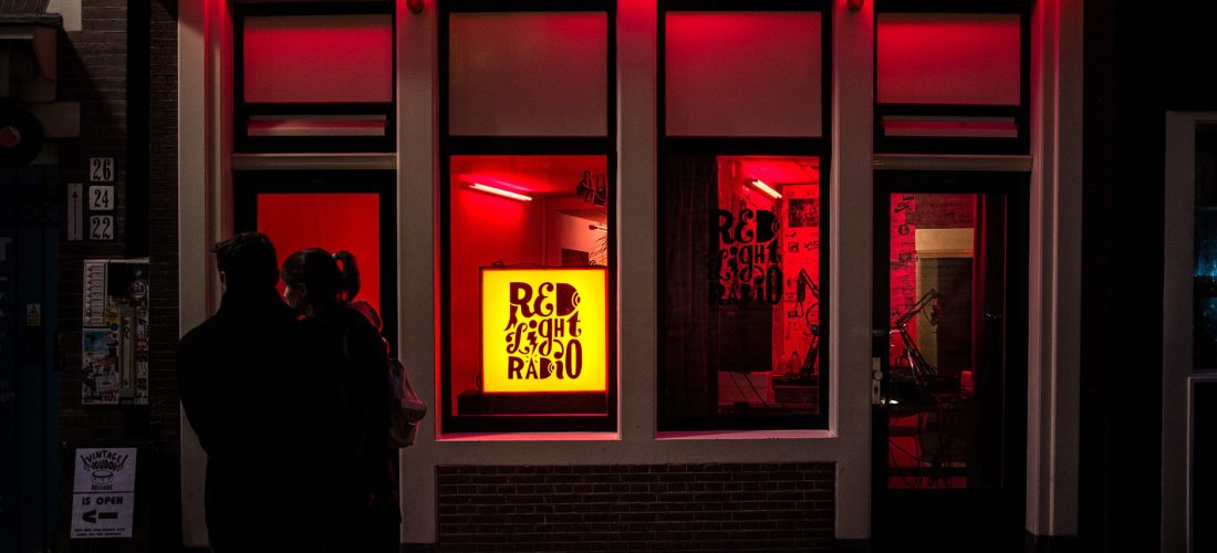 Red Light Radio, en Ámsterdam