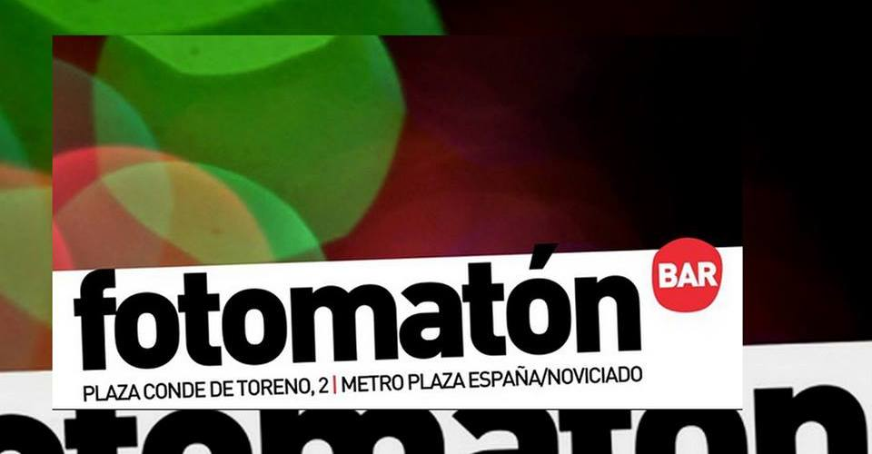 Sesión de DJ en Fotomatón Bar