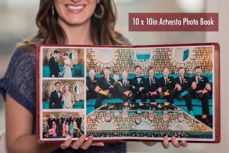 Artvesta Studio's wedding albums
