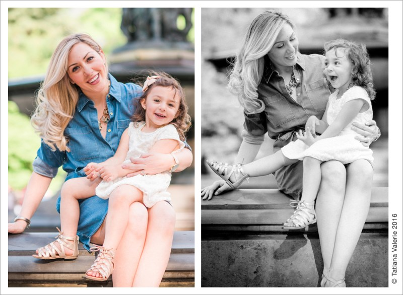 Mother-Daughter Photo Session in Central Park 2016