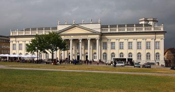Classical museum building