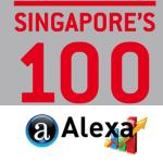 singapore top 100 Alexa
