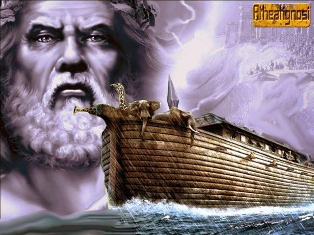 ο κατακλυσμός του Δευκαλίωνα προηγείται του κατακλυσμού του Δαρδάνου.