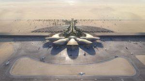 Η κατασκευή ξεκινά στο Διεθνές Αεροδρόμιο της Ερυθράς Θάλασσας Foster + Partners στη Σαουδική Αραβία