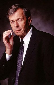 Cigarette smoking man