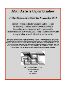 ASC Artists Open Studios BH