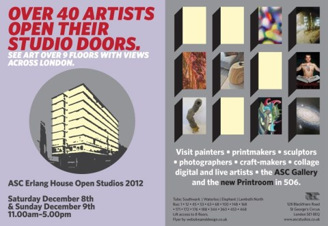 ASC Artists Open Studios EH