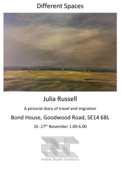 Julia Russell   Different Spaces