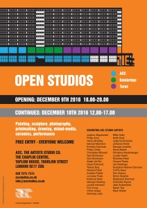 Chaplin Centre | Open Studio Event