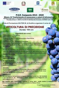 Corso Viticoltura di precisione PSR 2014-2020