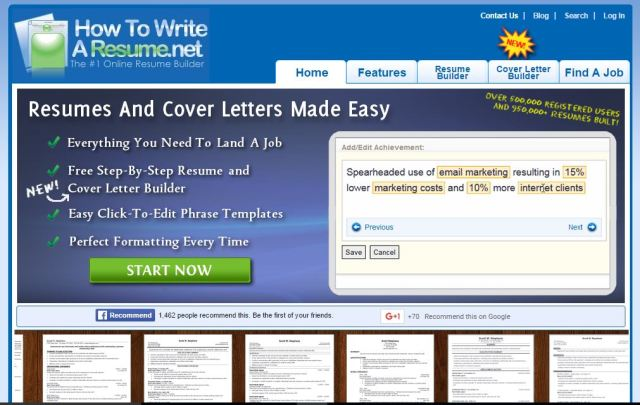 sites to create resume online for free 2016