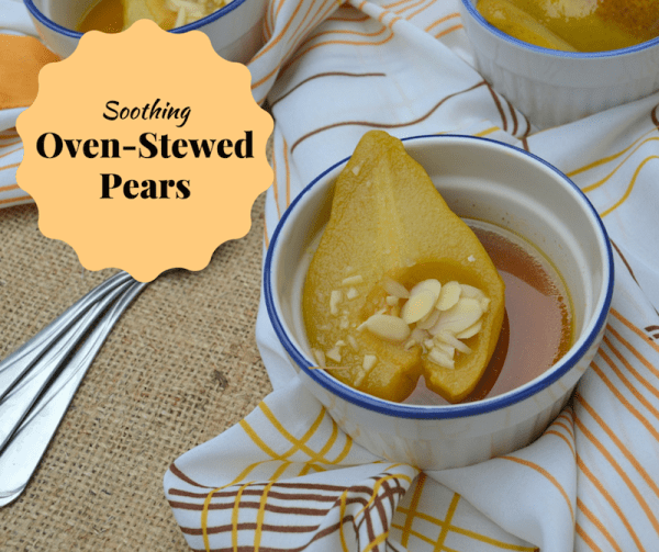 Soothing Oven-Stewed Pears sm