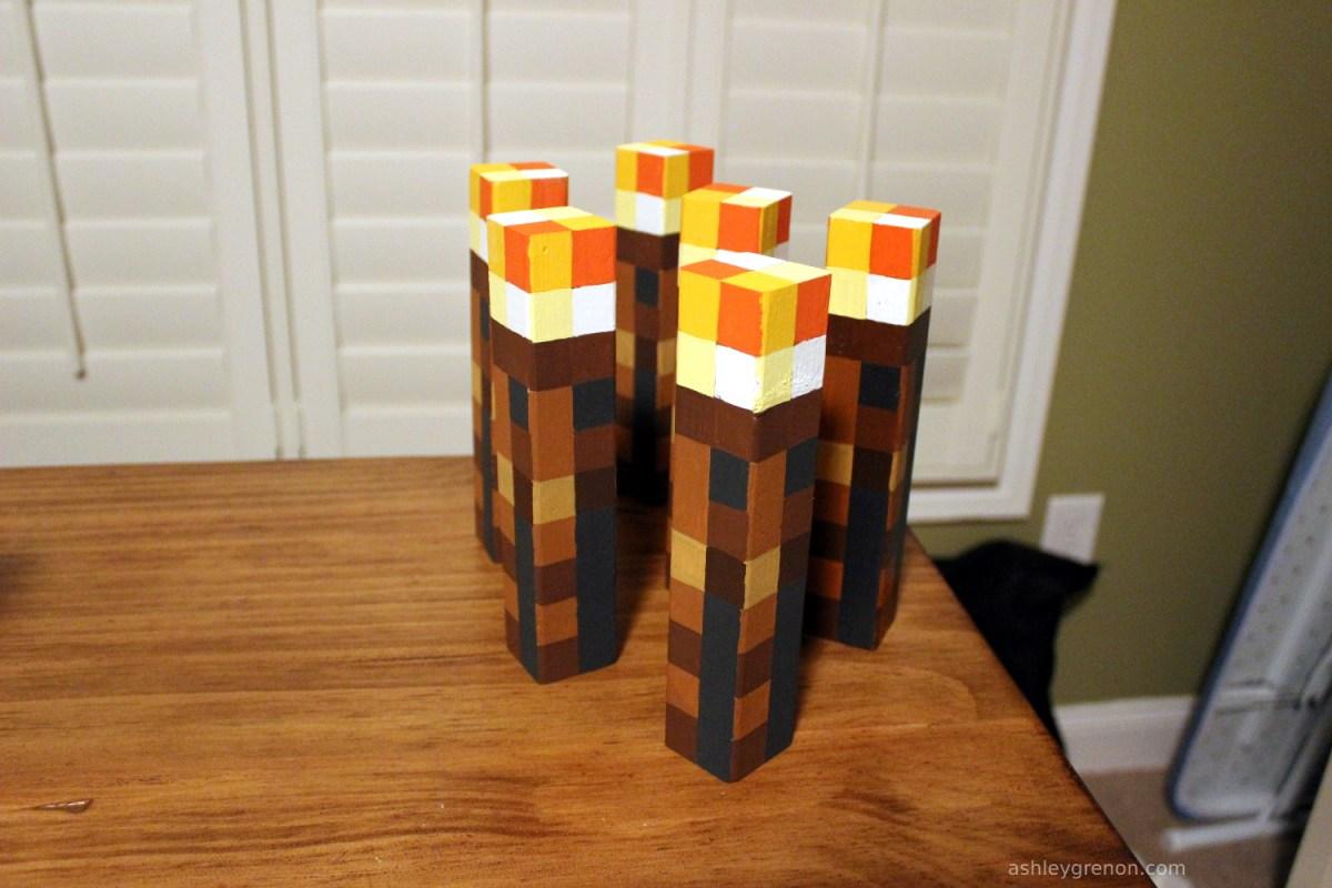 DIY Minecraft Torch (Tutorial)