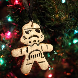 DIY Star Wars Salt Dough Ornaments