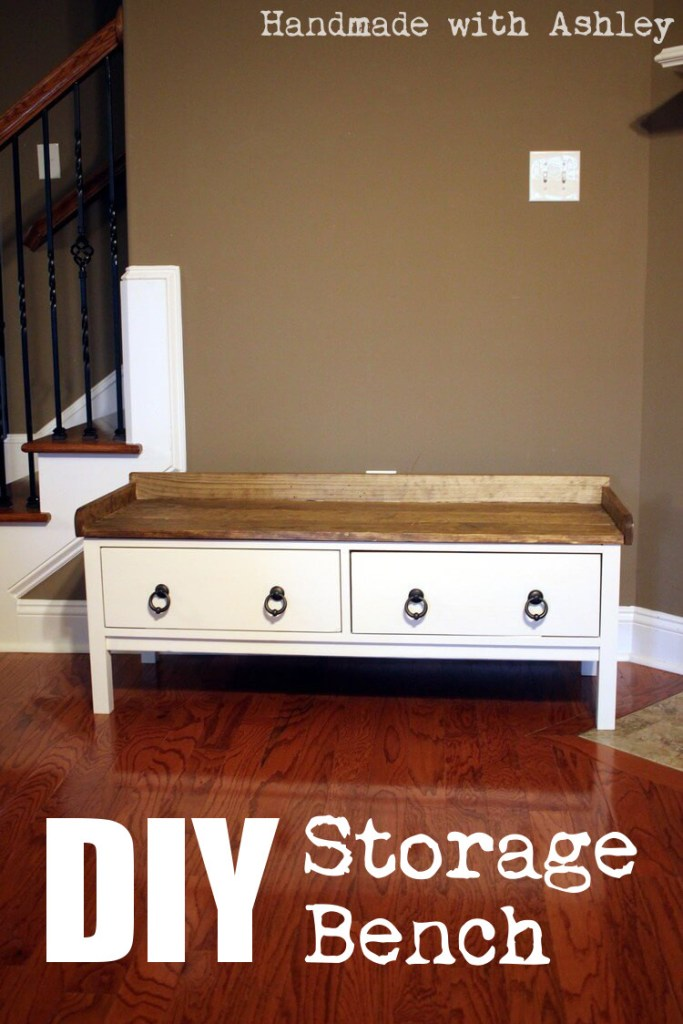 DIY Storage Bench with D. Lawless Hardware - August's FFFC
