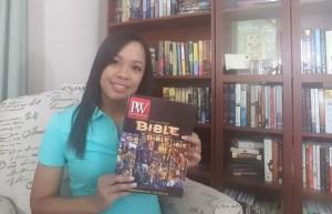 Ashley with PW Magazine