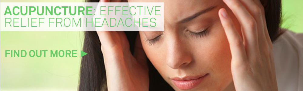 Relief from Headaches and Migraines with Acupuncture