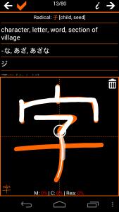 practice hand font