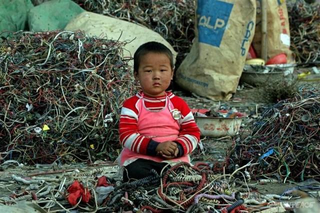 Guiyu rifiuti elettronici Cina