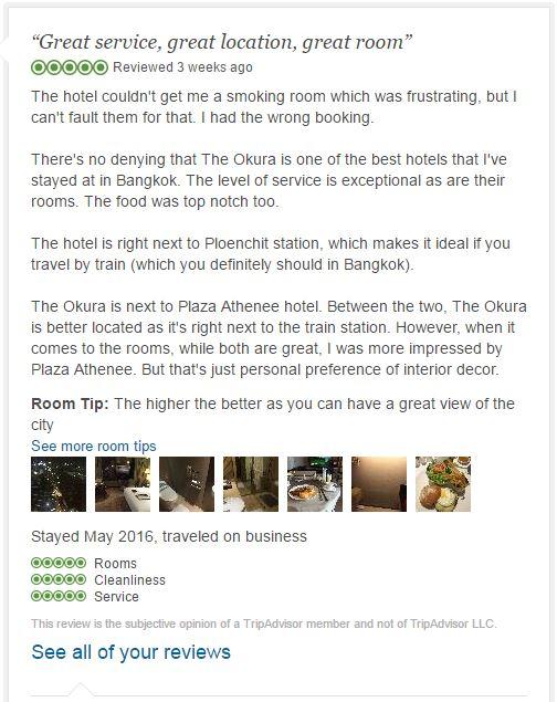 The Okura Prestige review