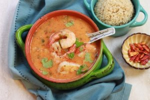 Thai Coconut Curry Seafood Bowl