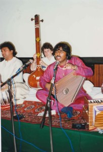 Members of the Asian School Of Music jamming
