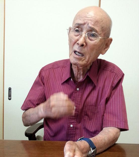 平和への関心、忘れないで~94歳元海軍兵の訴え(矢野宏/新聞うずみ火)