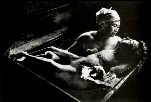 Tomoko Uemura in Her Bath Minamata, 1972 Copyright W. Eugene Smith