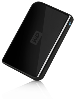 Western Digital WD1600 160GB drive, also available in 320GB size. Color = black