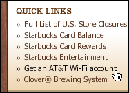 starbucks att get wifi account