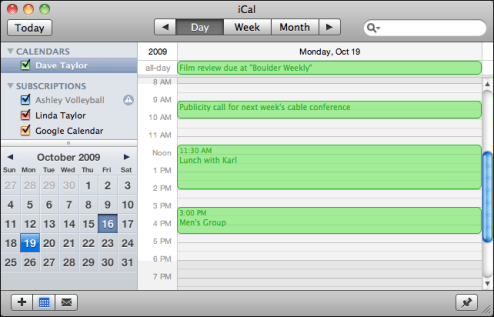 apple ical wrong timezone