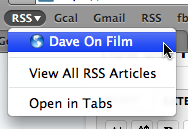 safari 4 rss bookmark folder